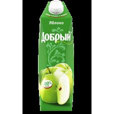"""Сок """"Добрый"""" Яблочный 1л."""