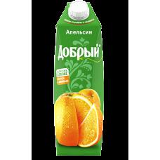 """Сок """"Добрый"""" Апельсиновый 1л."""